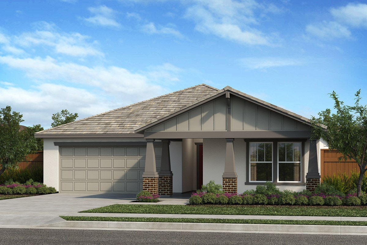 New Homes in Patterson, CA - Turnleaf Plan 1450 Craftsman 'B'
