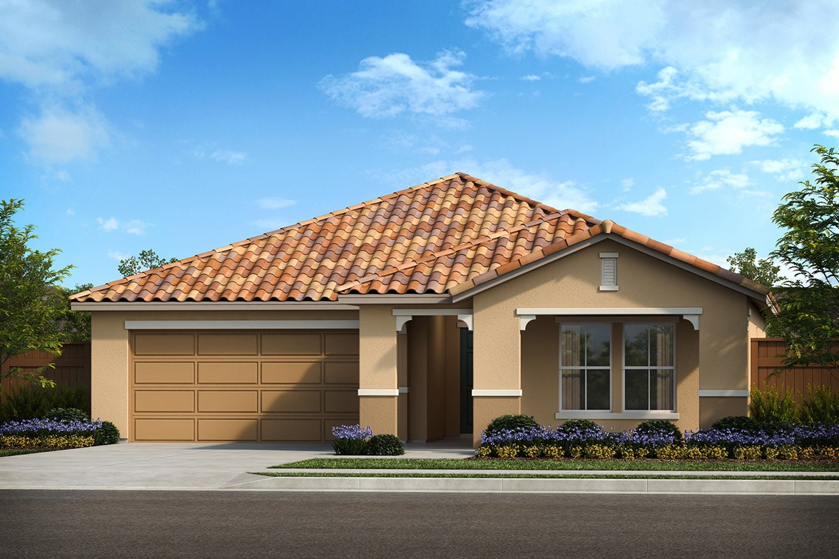 New Homes in Patterson, CA - Turnleaf Plan 1450 Tuscan 'E'