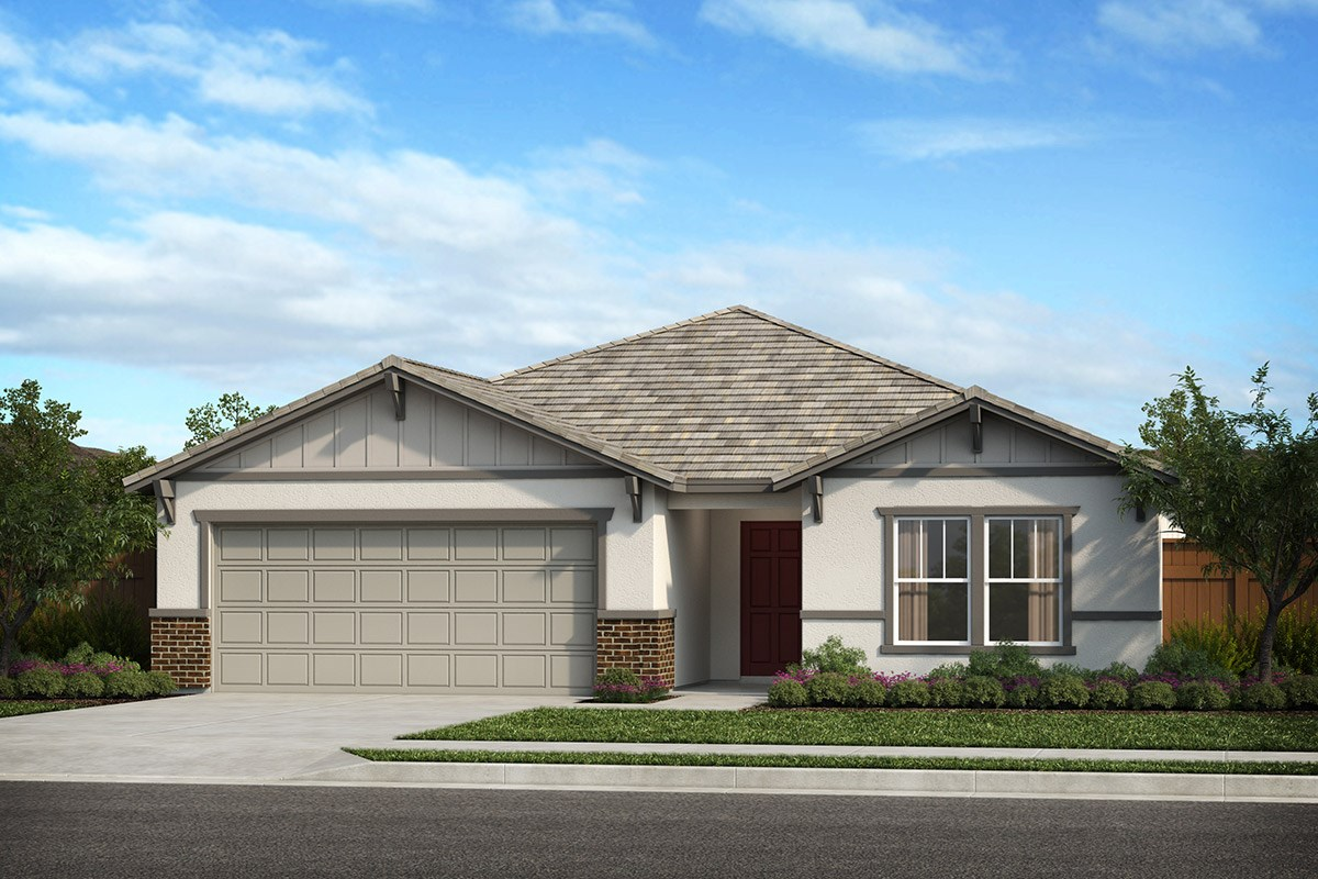 New Homes in Patterson, CA - Turnleaf Plan 1934 Craftsman 'B'