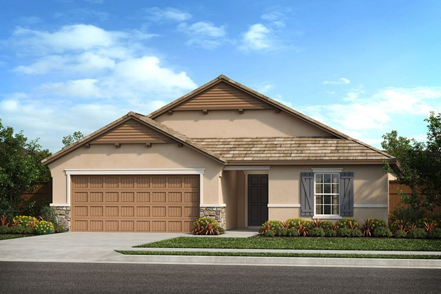 New Homes in Patterson, CA - Plan 1934 French Cottage 'D'