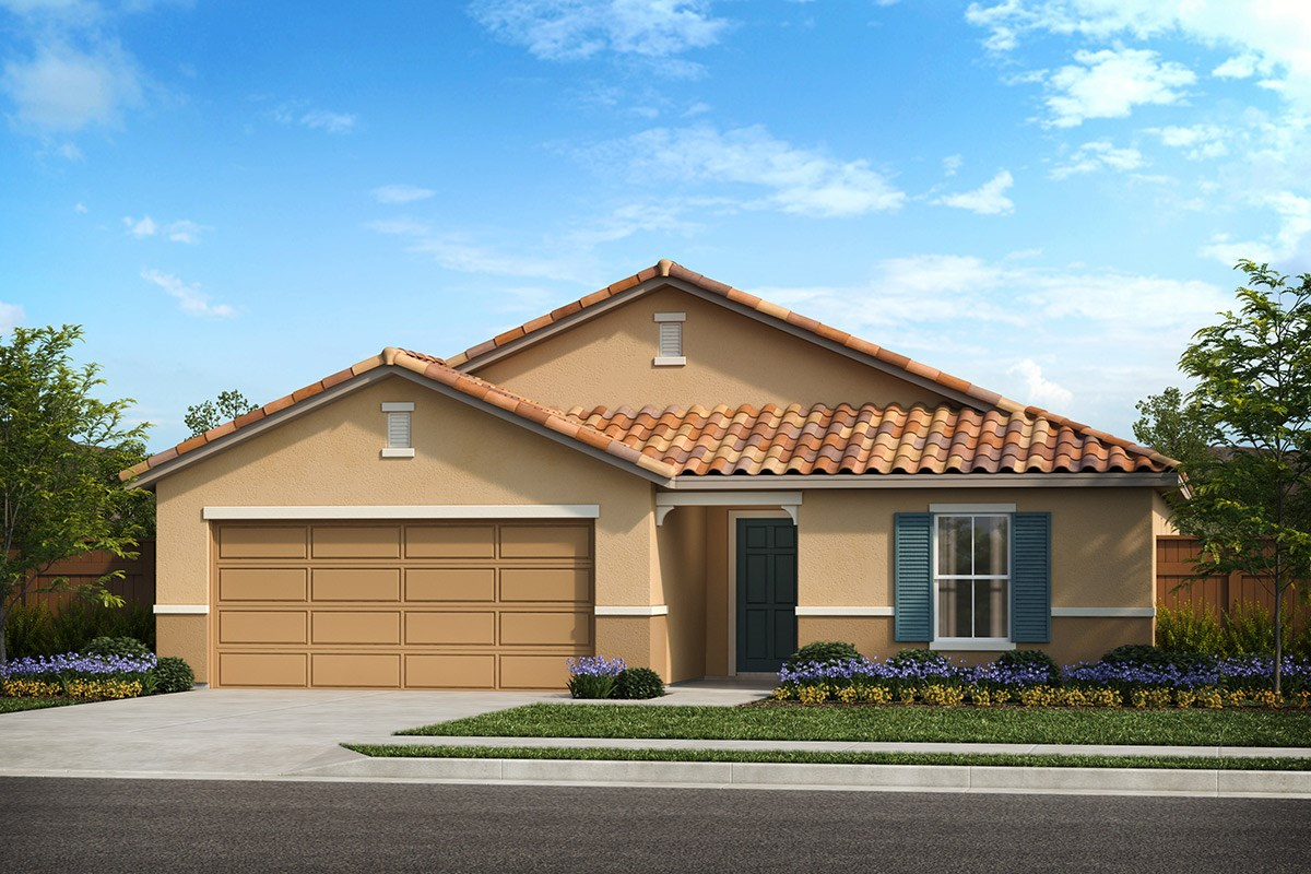 New Homes in Patterson, CA - Turnleaf Plan 1934 Tuscan 'E'