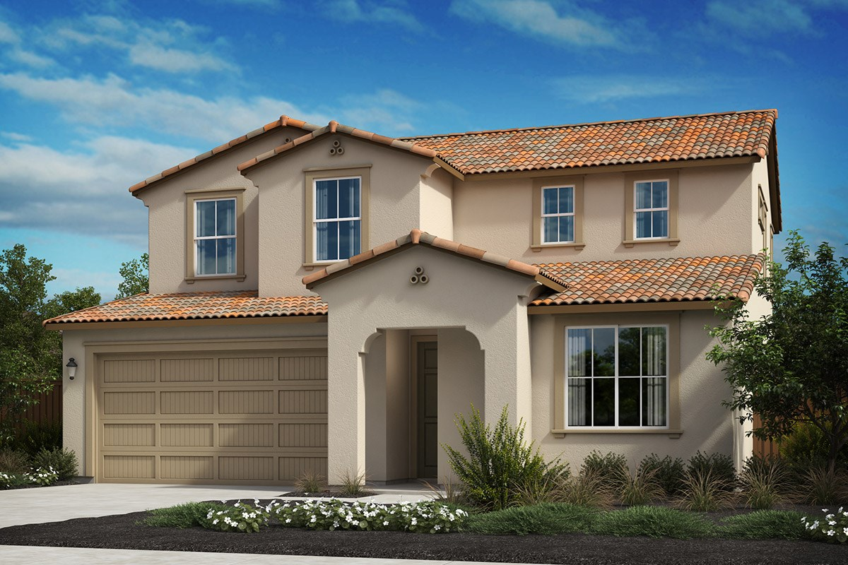 New Homes in Oakley, CA - Westerly at Delaney Park Plan 4A - Spanish