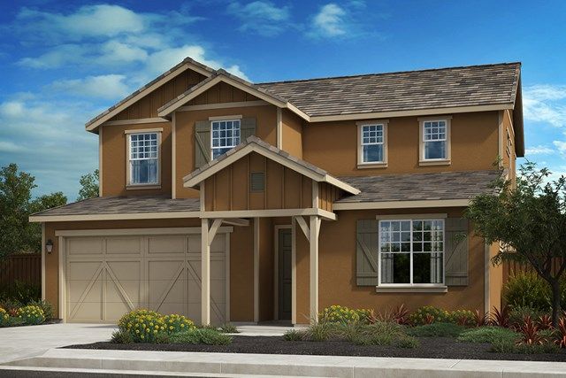 New Homes in Oakley, CA - Elevation B - Farmhouse