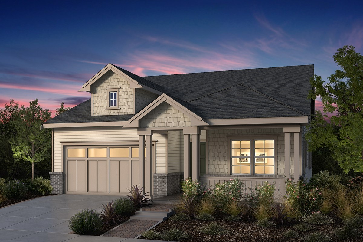 New Homes in Fremont, CA - Windrose at Patterson Ranch Plan 2 Victorian Elevation