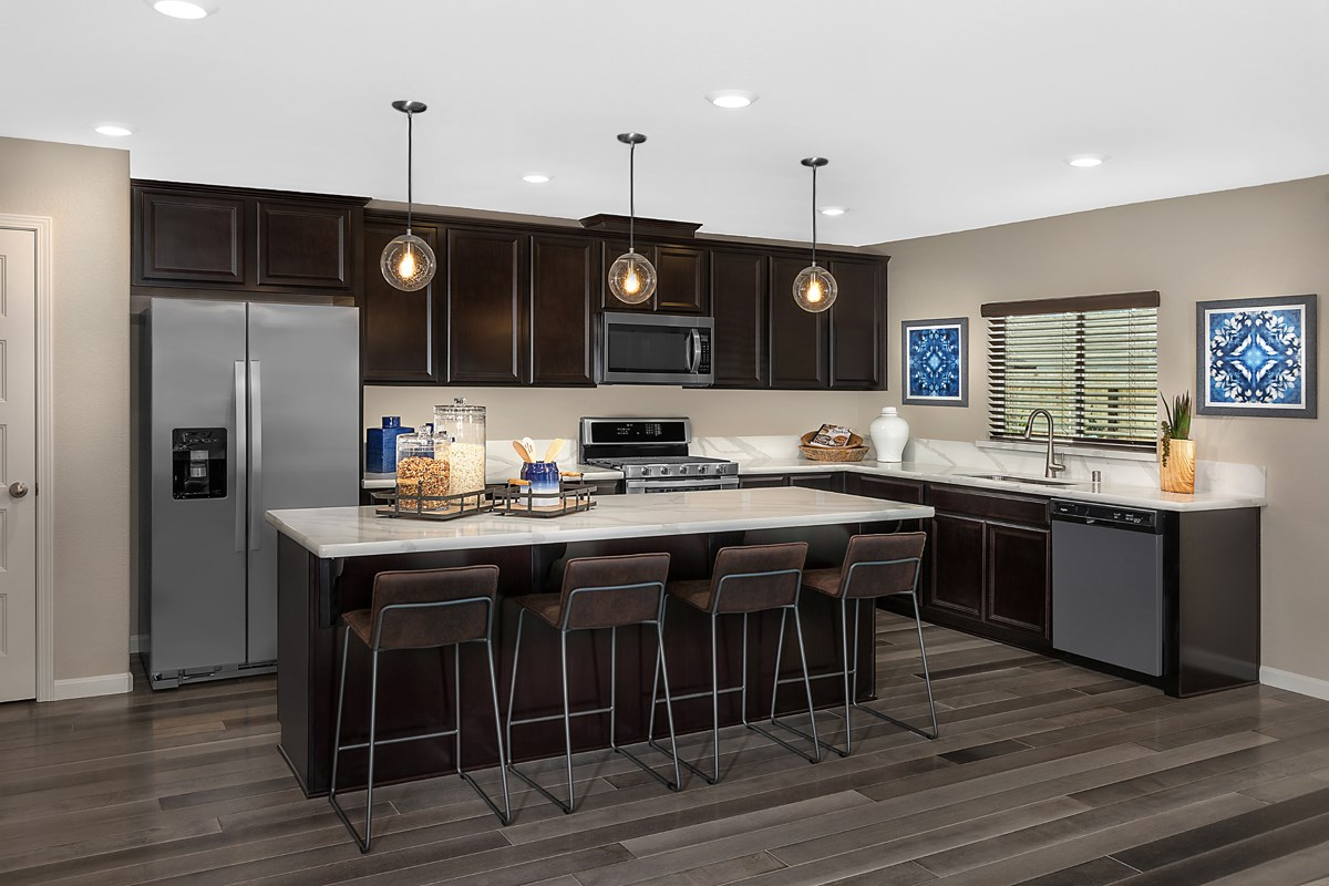 New Homes in Fresno, CA - Laurel Grove Plan 2148 Kitchen