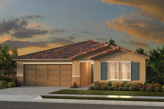 New Homes in Fresno, CA - Plan 1557 Elevation E