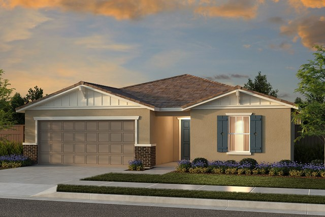 New Homes in Fresno, CA - Plan 1925 Elevation B