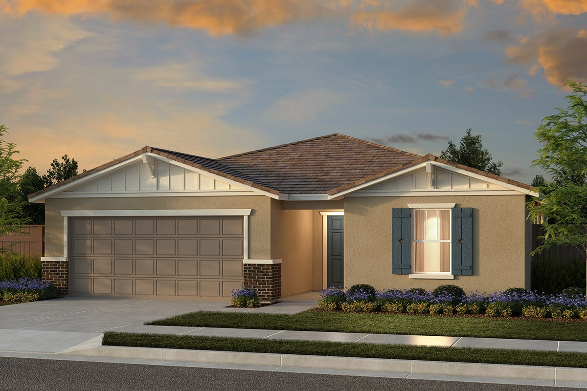 New Homes in Fresno, CA - Laurel Grove Plan 1925 Elevation B