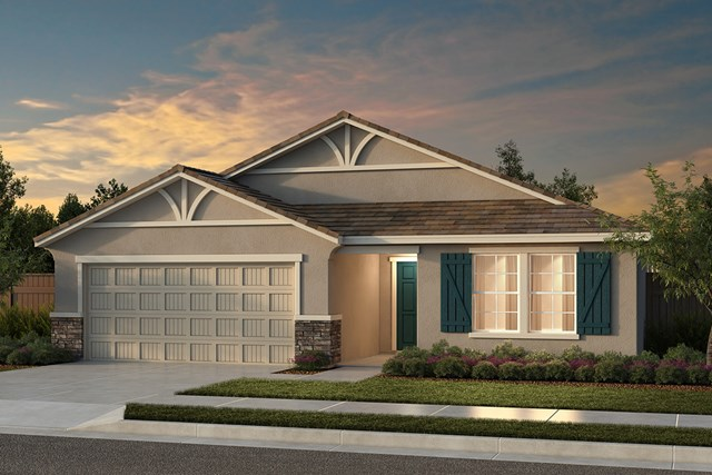 New Homes in Fresno, CA - Plan 1925 Elevation D
