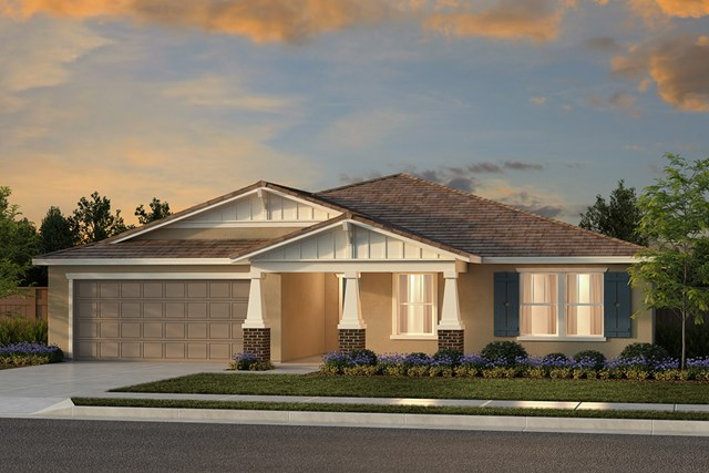 New Homes in Fresno, CA - Plan 2321 Elevation B