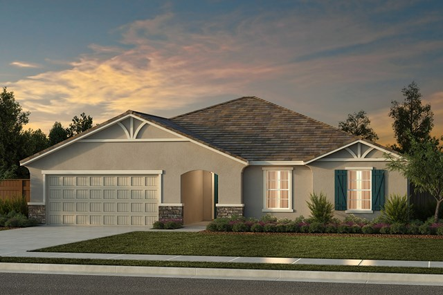 New Homes in Fresno, CA - Plan 2321 Elevation D