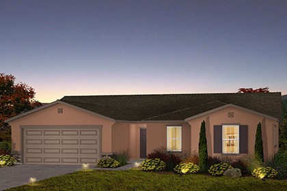 New Homes in Fresno, CA - The Jake - Tuscan