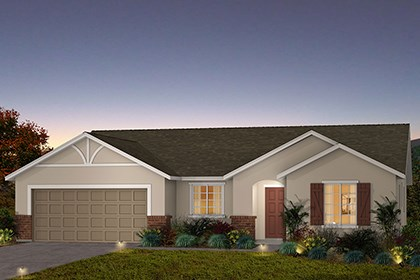 New Homes in Fresno, CA - The Reggie - French