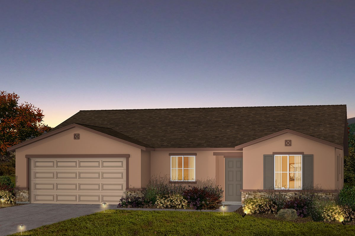 New Homes in Fresno, CA - Olive Lane The Reggie - Tuscan
