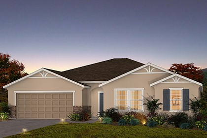 New Homes in Fresno, CA - The Kayla - French