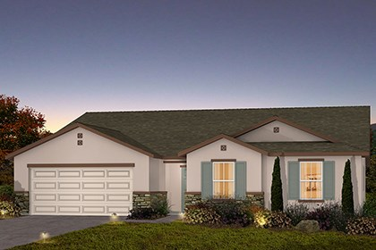 New Homes in Fresno, CA - The Kayla - Tuscan