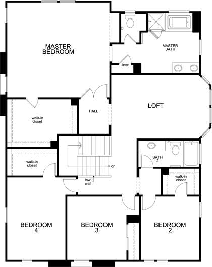 Residence 3292 Modeled At Arroyo Vista At The Woodlands In
