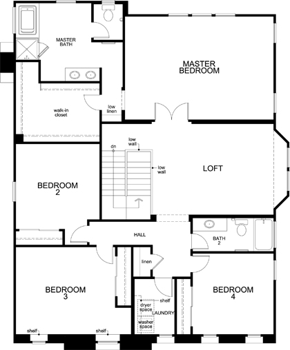 Residence 3481 for Floor plans los angeles