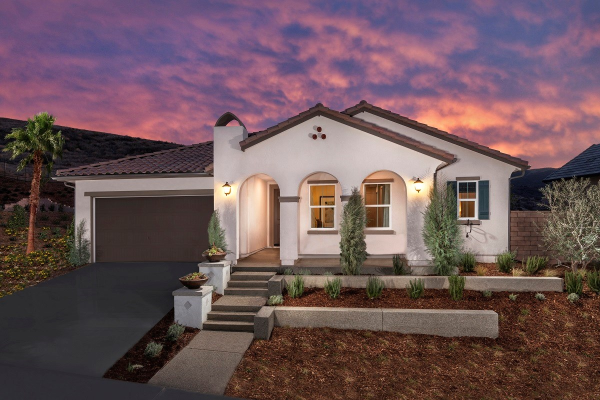 New Homes in Simi Valley, CA - Arroyo Vista at The Woodlands Residence 2414 Exterior