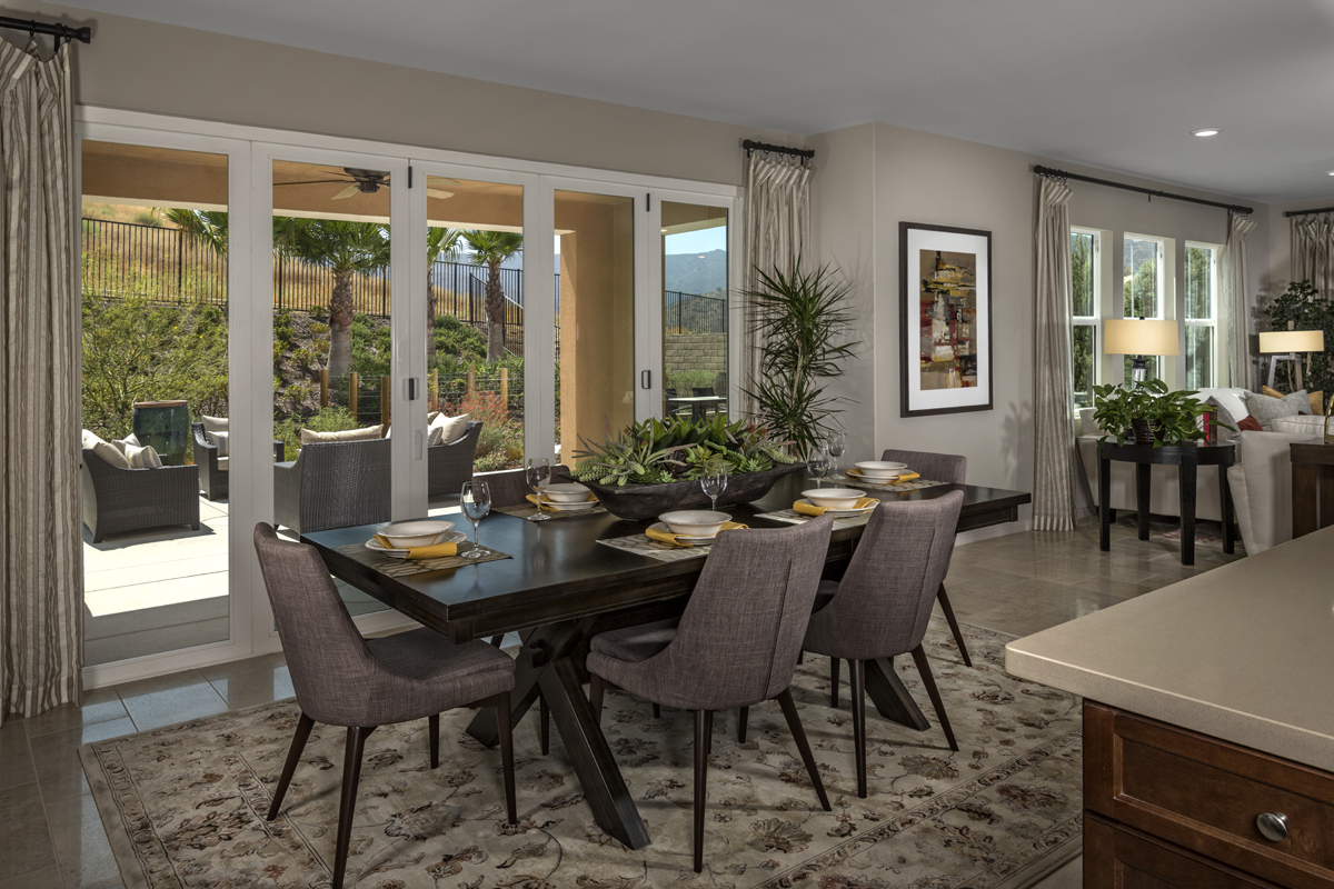 Finest New Homes In Simi Valley Ca Arroyo Vista At The Woodlands Residence  Closed With Closed Patio Designs