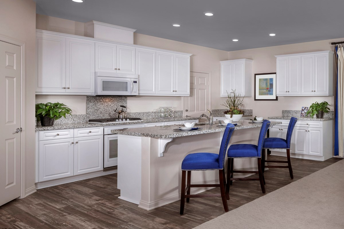 New Homes in Simi Valley, CA - Arroyo Vista at The Woodlands Residence 2852 Kitchen
