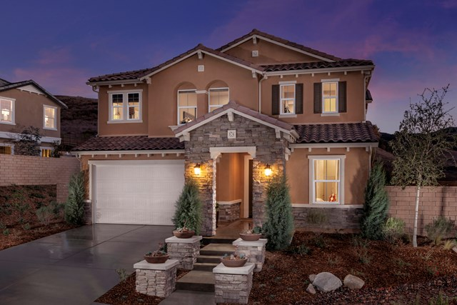 KB model home in Simi Valley, CA