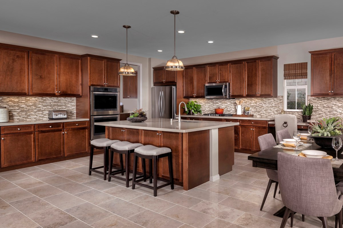 New Homes in Simi Valley, CA - Arroyo Vista at The Woodlands Residence 3292 Kitchen