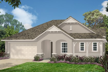 New Homes in Simi Valley, CA - French 'C'