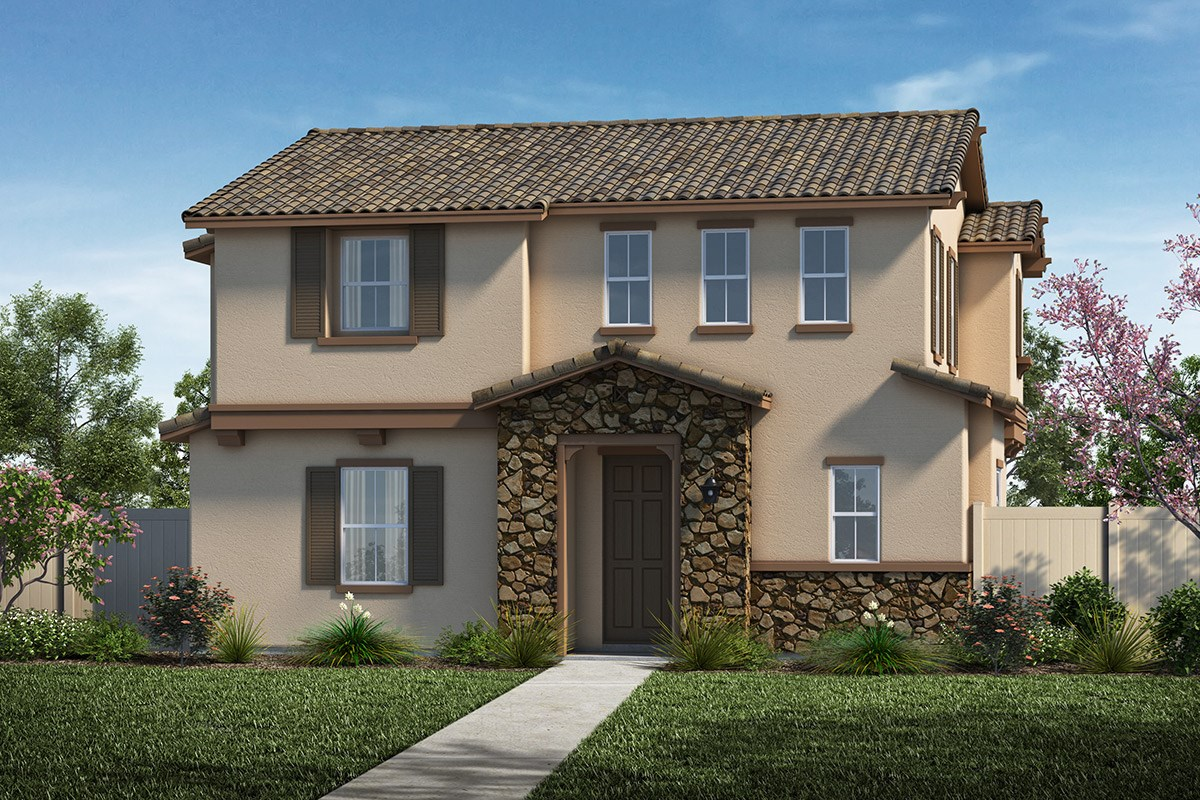 New Homes in Santa Clarita, CA - Auburn at Vista Canyon Plan 1855 Elevation A