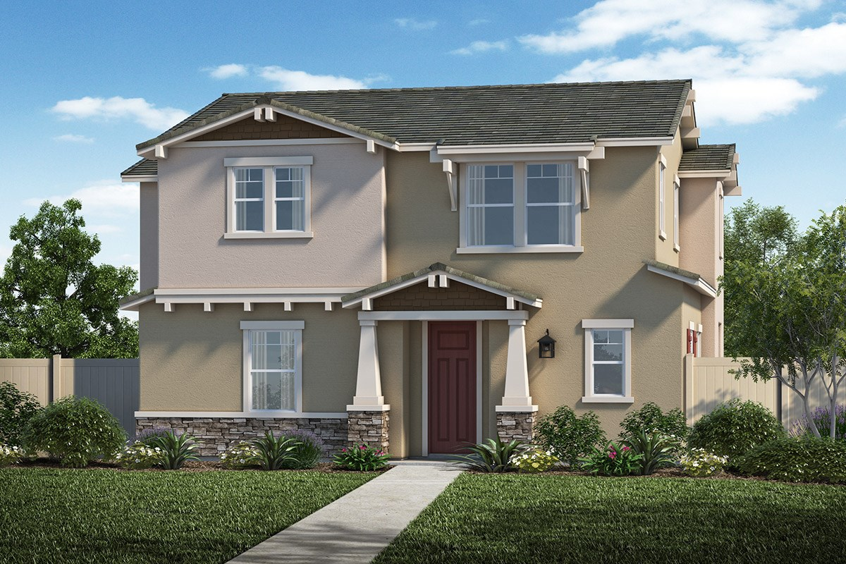 New Homes in Santa Clarita, CA - Auburn at Vista Canyon Plan 1855 Elevation B