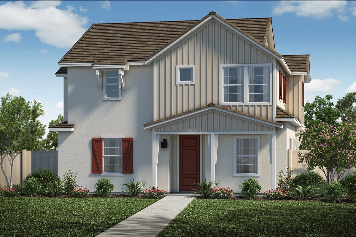 New Homes in Santa Clarita, CA - Auburn at Vista Canyon Plan 1855 Elevation C