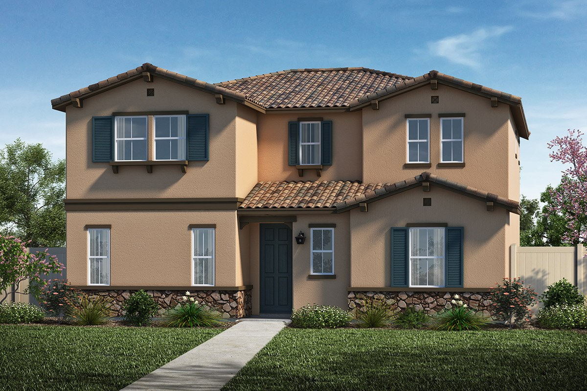 New Homes in Santa Clarita, CA - Auburn at Vista Canyon Plan 2201 Elevation A