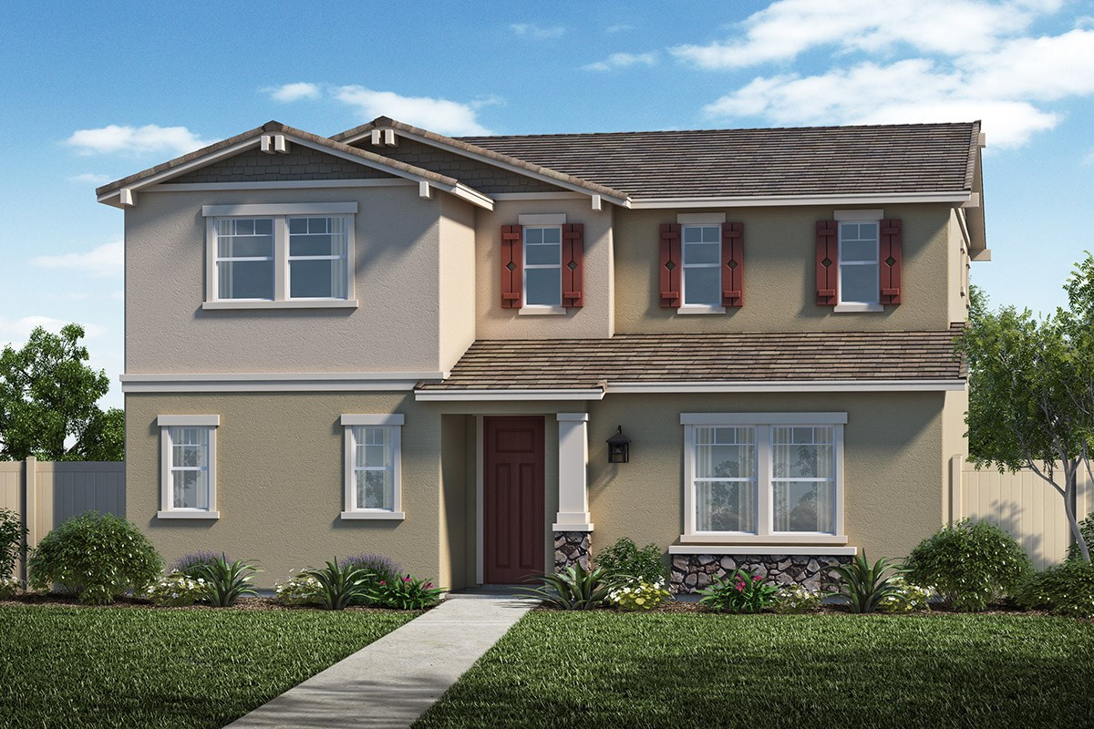 New Homes in Santa Clarita, CA - Auburn at Vista Canyon Plan 2201 Elevation B