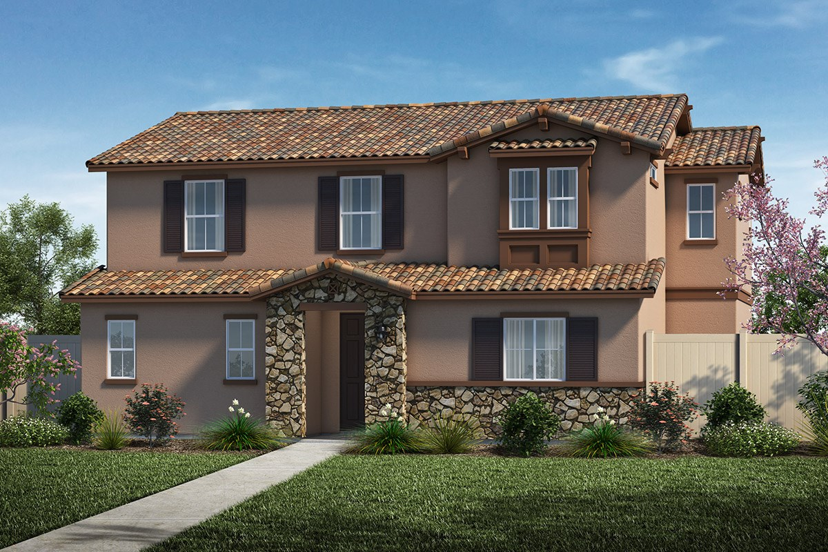 New Homes in Santa Clarita, CA - Auburn at Vista Canyon Plan 2312 Elevation A
