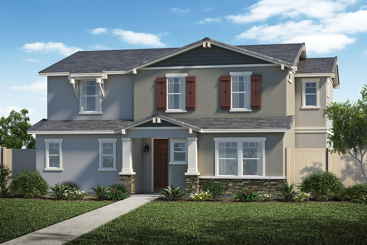 New Homes in Santa Clarita, CA - Auburn at Vista Canyon Plan 2312 Elevation B