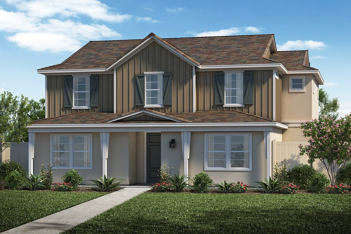 New Homes in Santa Clarita, CA - Auburn at Vista Canyon Plan 2312 Elevation C