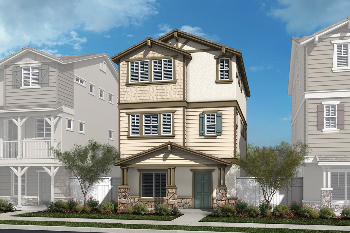 New Homes in Chatsworth, CA - Brezza Residence One - Craftsman