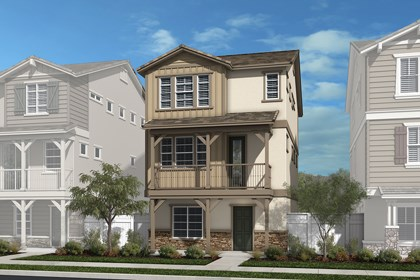 New Homes in Chatsworth, CA - Contemporary American West 'C'