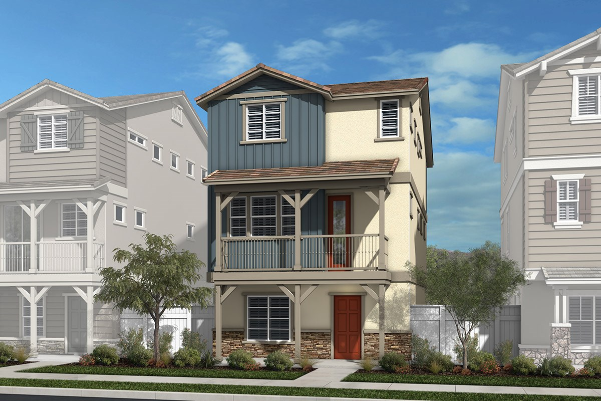 New Homes in Chatsworth, CA - Brezza Residence One - Contemporary American West