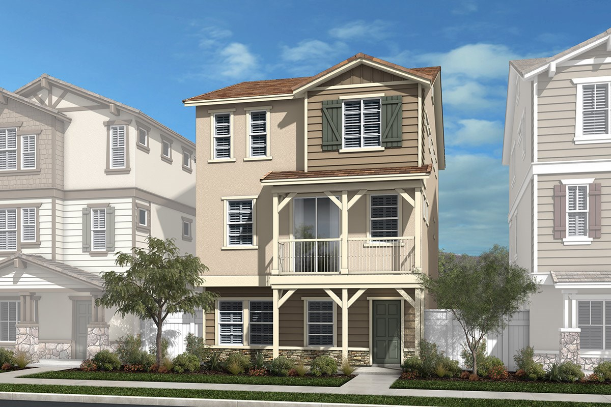 New Homes in Chatsworth, CA - Brezza Residence Three - Contemporary American West