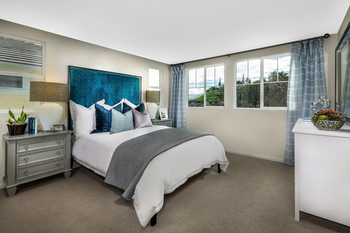 New Homes in Chatsworth, CA - Brezza Residence 1 - Master Bedroom