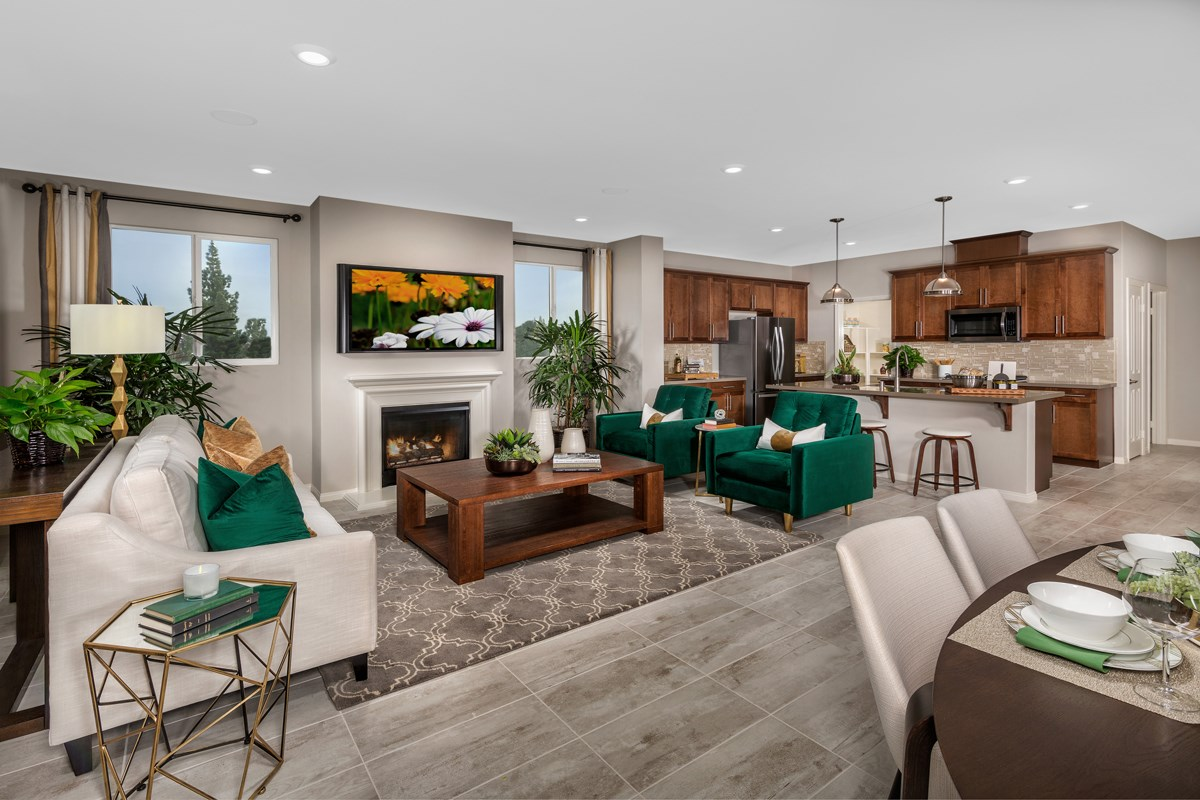 New Homes in Chatsworth, CA - Brezza Residence 2 - Great Room