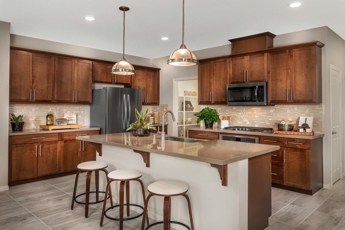 New Homes in Chatsworth, CA - Brezza Residence 2 - Kitchen