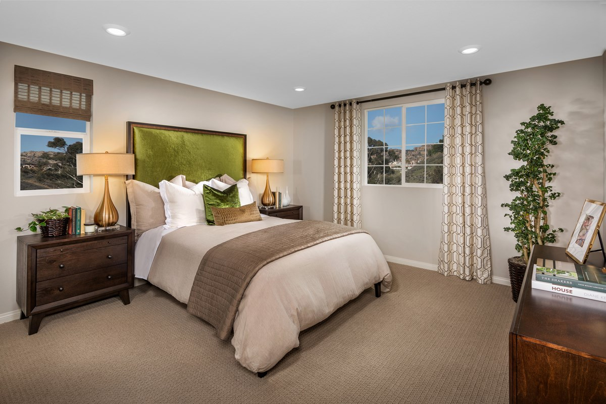 New Homes in Chatsworth, CA - Brezza Residence 2 - Master Bedroom