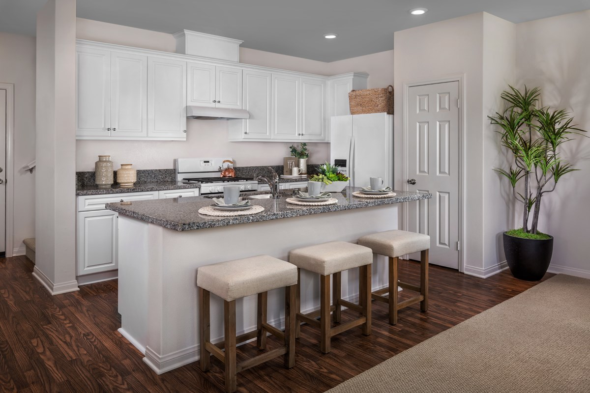 New Homes in Van Nuys, CA - Brighton Residence 1 Kitchen