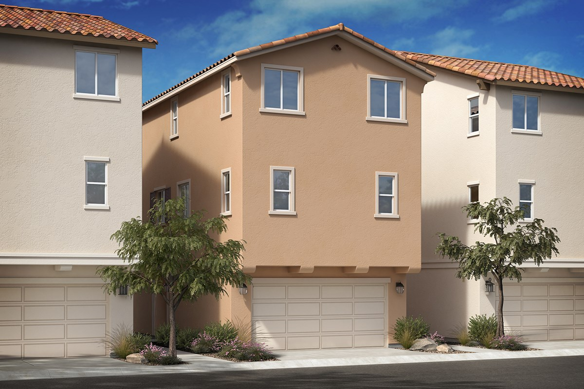 New Homes in Van Nuys, CA - Brighton Residence 3 - Spanish 'A'