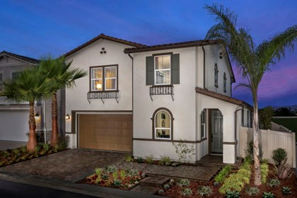 New Homes in West Covina, CA - Spanish 'A'