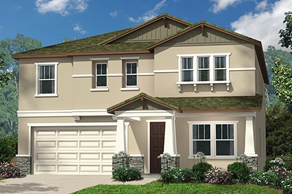 New Homes in Santa Clarita, CA - Craftsman 'D'