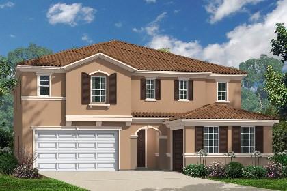 New Homes in Santa Clarita, CA - Elevation 'E'