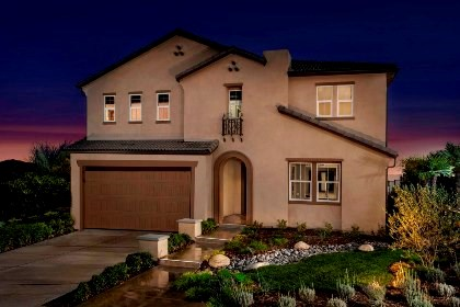 New Homes in Santa Clarita, CA - Elevation 'A'